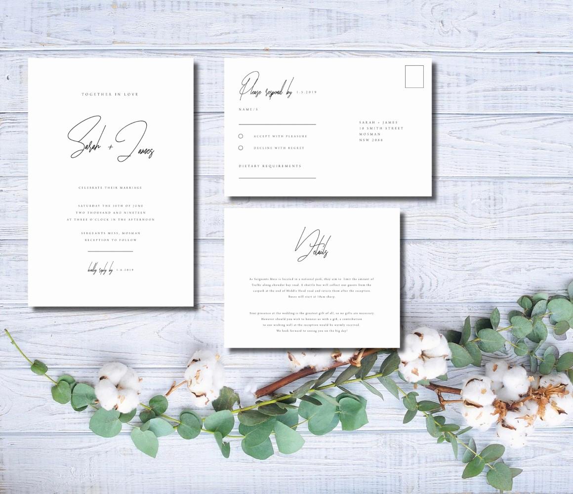 Best Wedding Invitation Sites Inspirational 14 Modern Wedding Invitation Templates From Etsy Sellers