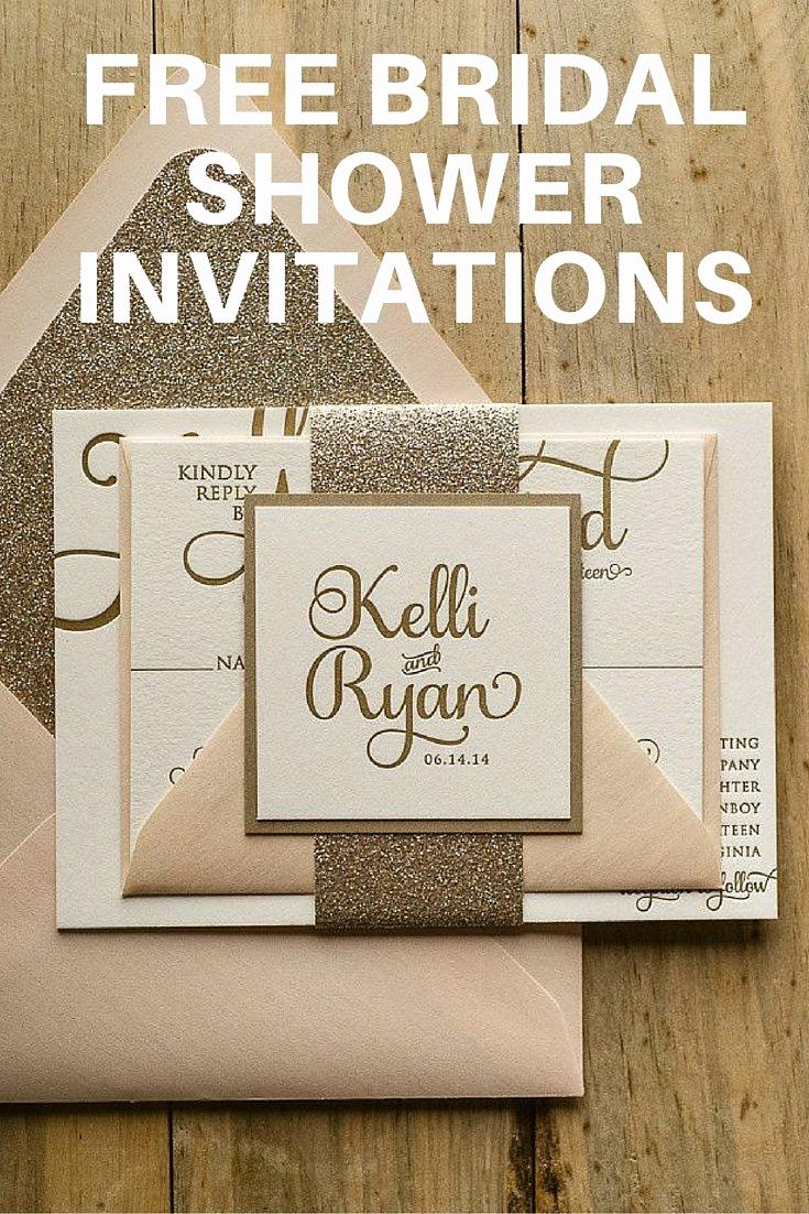 Best Wedding Invitation Sites Luxury Team Wedding Blog Free Bridal Shower Invitations