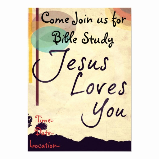 Bible Study Invitation Wording Awesome Bible Study Invitation