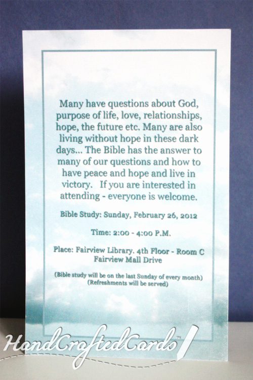 Bible Study Invitation Wording Beautiful Bible Study Invitation 1 by Handcraftedcards On Deviantart