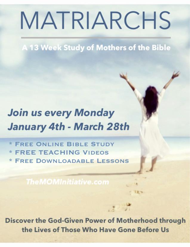 Bible Study Invitation Wording Beautiful Matriarchs An Invitation to Our Line Bible Study