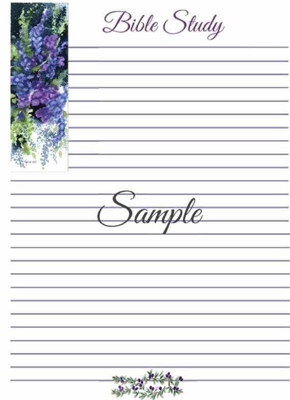 Bible Study Invitation Wording New Bible Study Journal Template