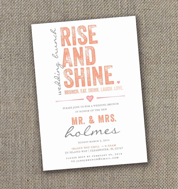 Birthday Brunch Invitation Wording Elegant Fabulous Breakfast and Brunch Wedding Ideas for the Early