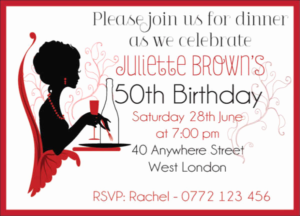 Birthday Dinner Invitation Wording Beautiful 39 event Invitations In Word