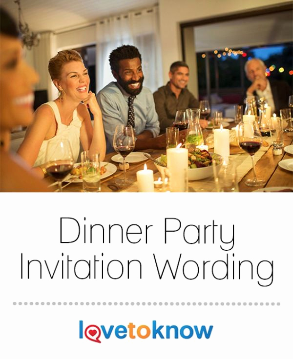 Birthday Dinner Invitation Wording Best Of 17 Best Ideas About Dinner Party Invitations On Pinterest