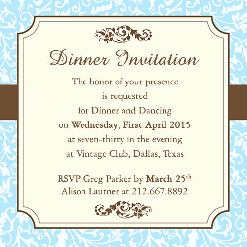 Birthday Dinner Invitation Wording Fresh Fab Dinner Party Invitation Wording Examples You Can Use