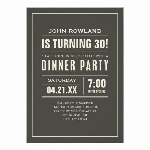 Birthday Dinner Invitation Wording Luxury Birthday Dinner Party Invitations