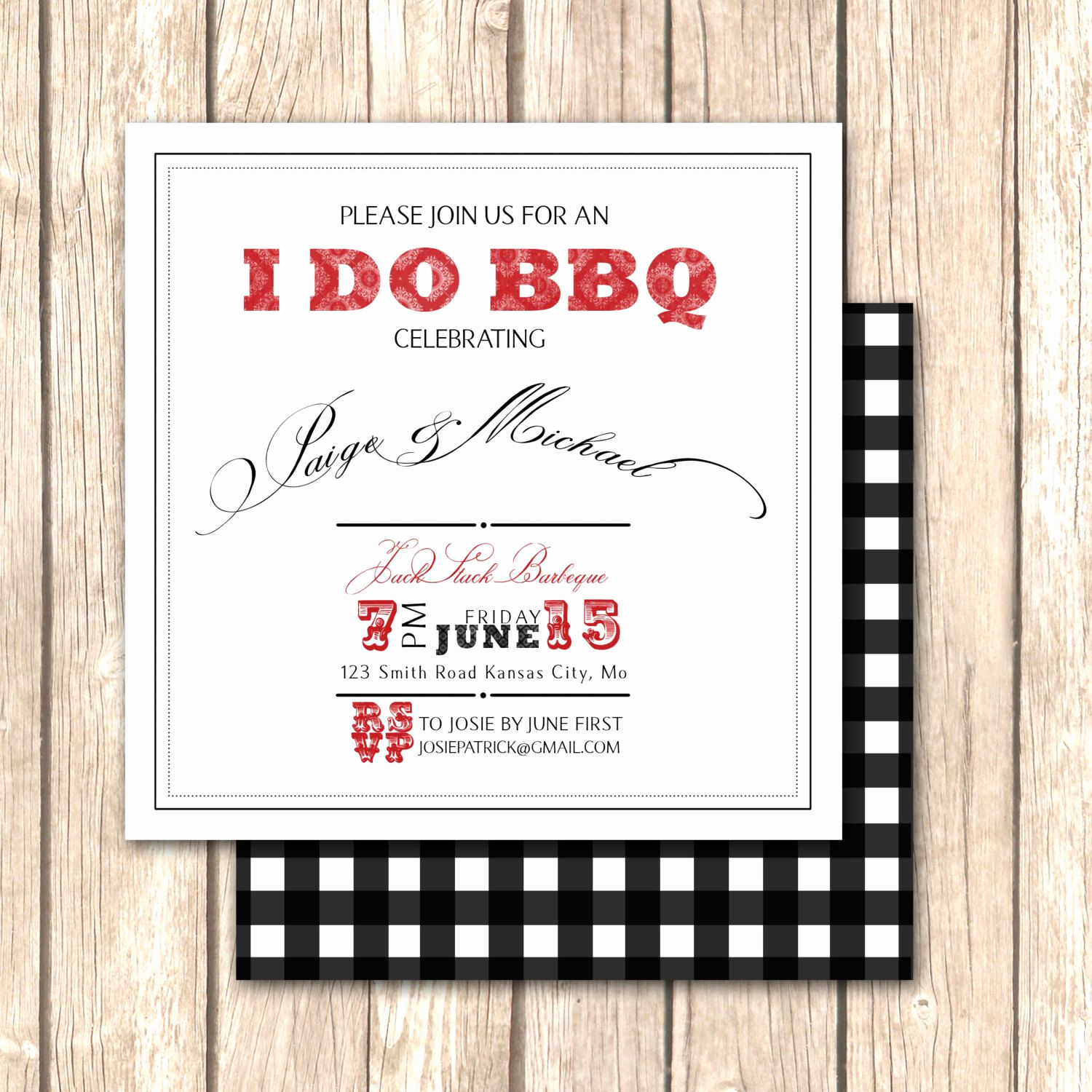 Birthday Dinner Invitation Wording Luxury Elegant Bbq Rehearsal Dinner Invitation Upscale Bbq