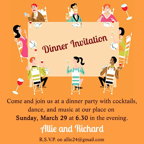 Birthday Dinner Invitation Wording New Quotes About Team Dinner 11 Quotes