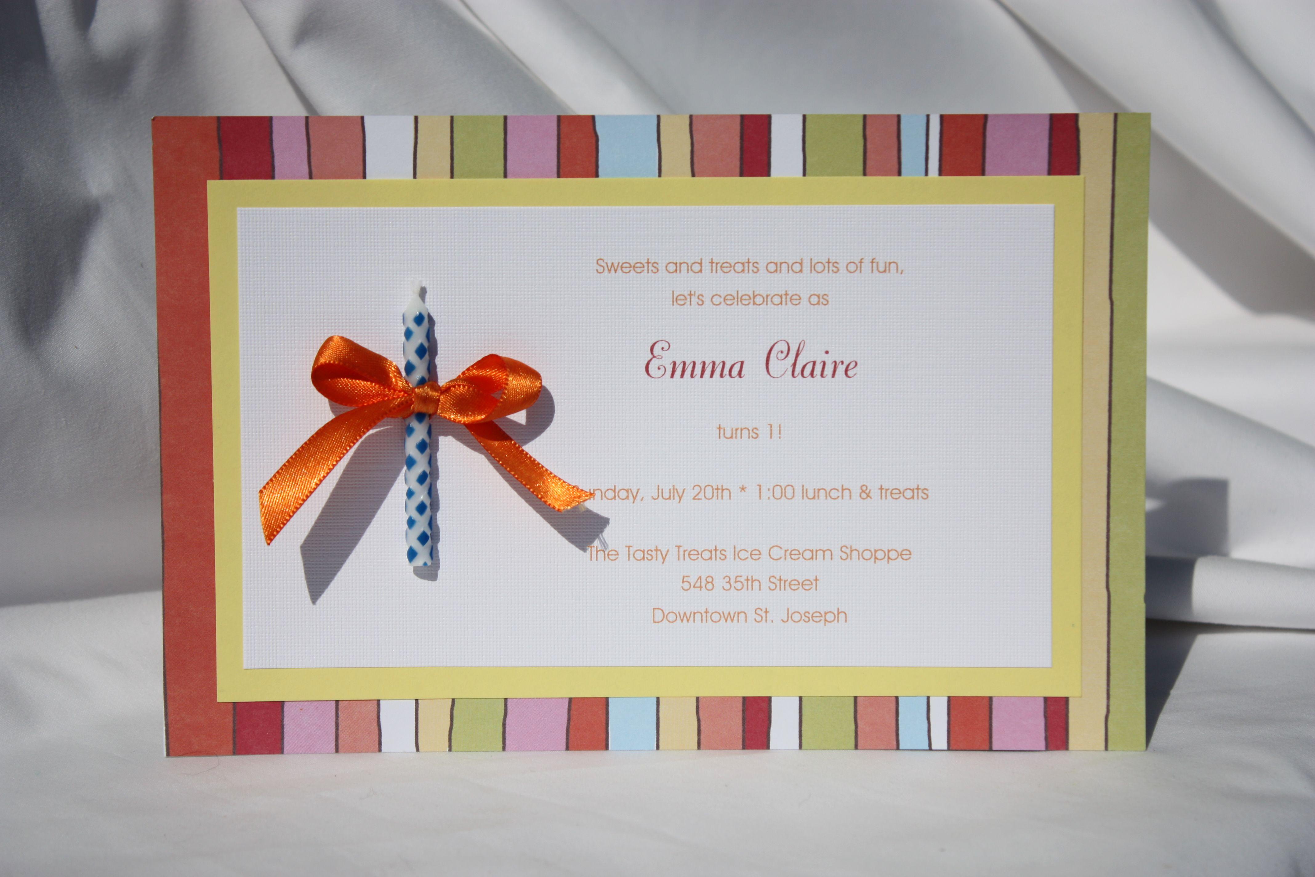 Birthday Invitation Card Ideas Lovely Create Easy Homemade Birthday Invitations Designs