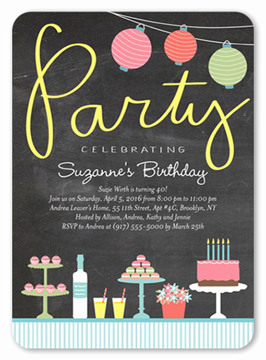 Birthday Invitation Card Ideas Unique 21 Teen Birthday Invitations Inspire Design Cards