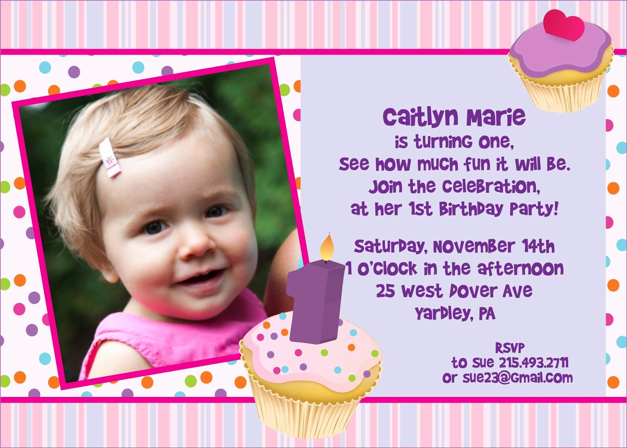 Birthday Invitation Card Sample Lovely Birthday Card Invitation Sample