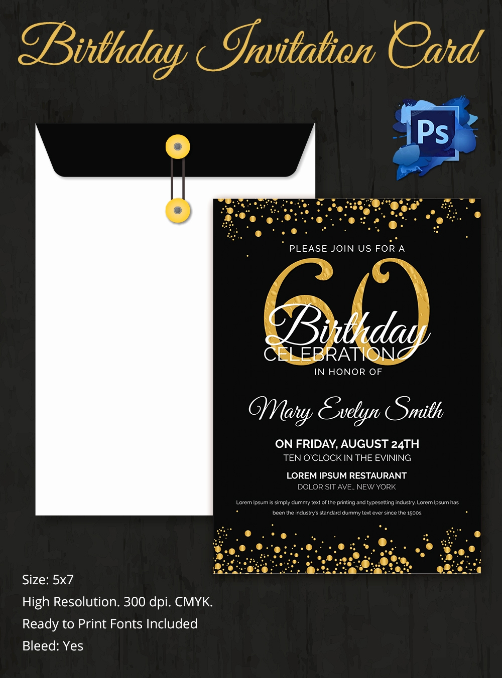 Birthday Invitation Card Sample Unique Birthday Invitation Template 32 Free Word Pdf Psd Ai