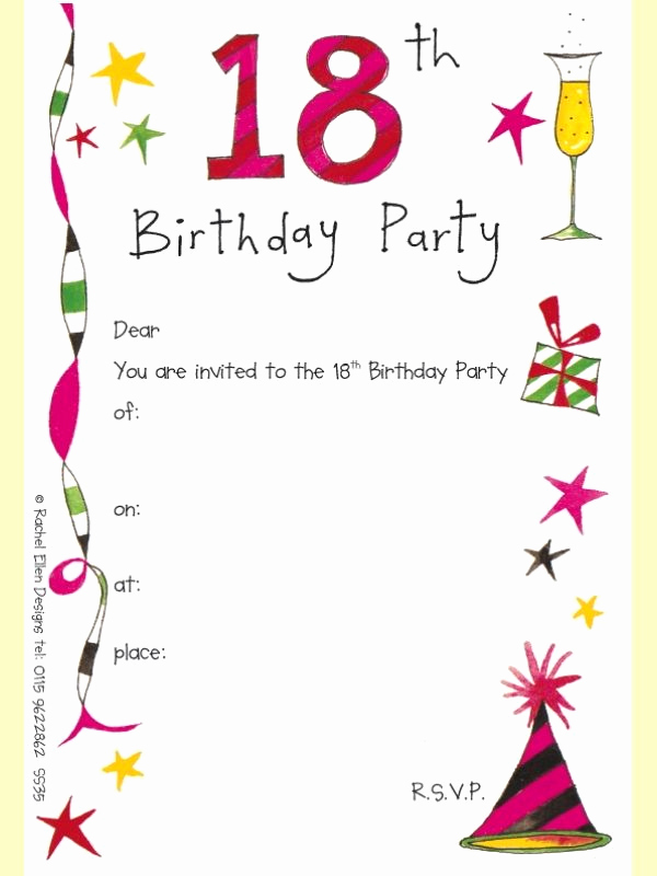 Birthday Invitation Card Template New Screenprintbiennial Invitation