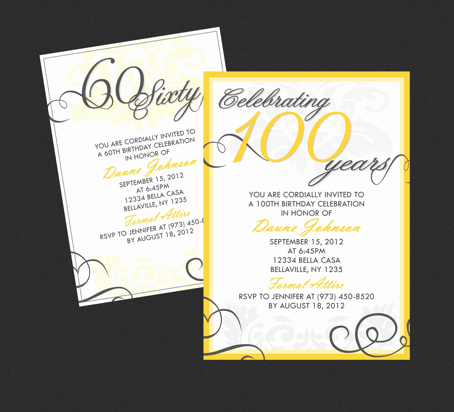 Birthday Invitation Ideas for Adults Best Of Elegant Adult Birthday Invitation Available for Any Age