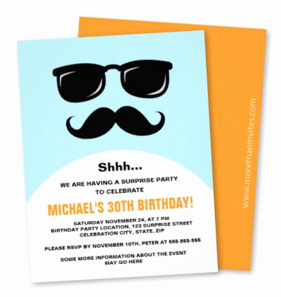 Birthday Invitation Ideas for Adults Elegant Free Funny Birthday Invitations for Adults