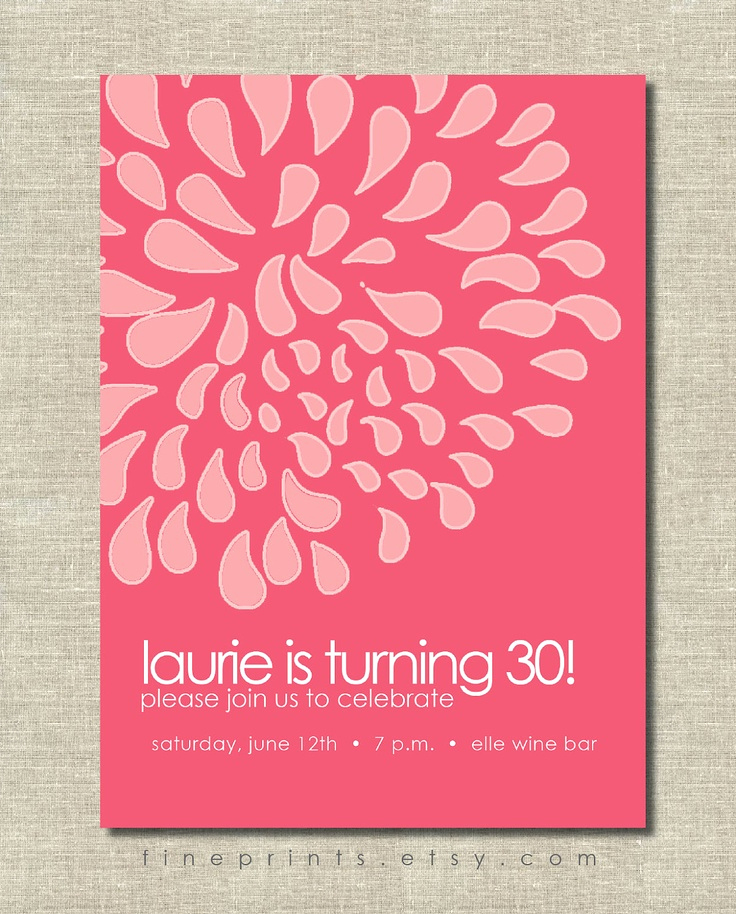 Birthday Invitation Ideas for Adults Inspirational 220 Best Images About Adult Birthday themes On Pinterest