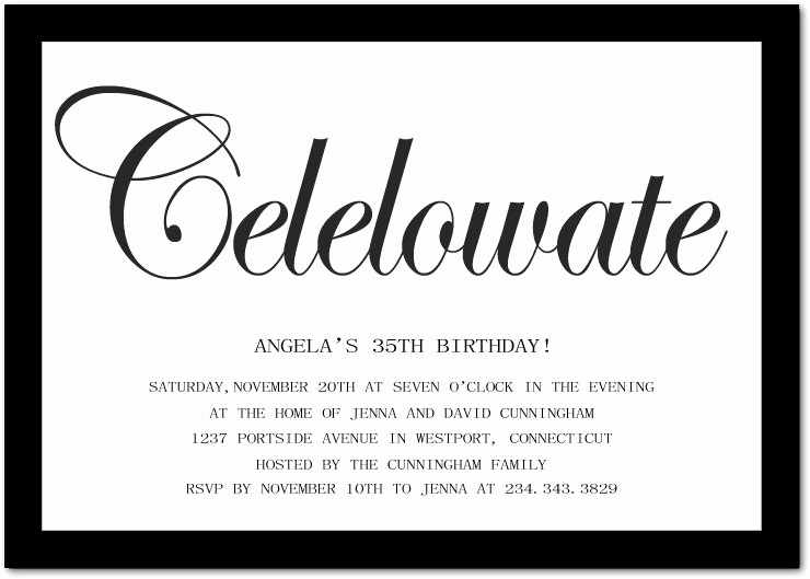 Birthday Invitation Message for Adults Unique Funny Birthday Invitation Wording