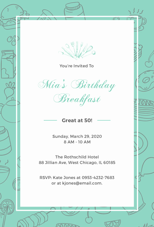 Birthday Invitation Template Word Elegant Birthday Invitation Template 44 Free Word Pdf Psd Ai