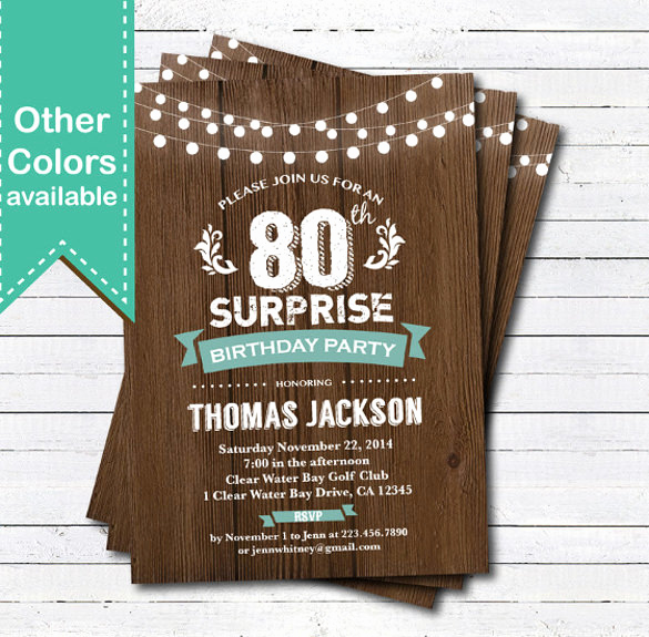 Birthday Invitation Template Word Fresh 49 Birthday Invitation Templates Psd Ai Word