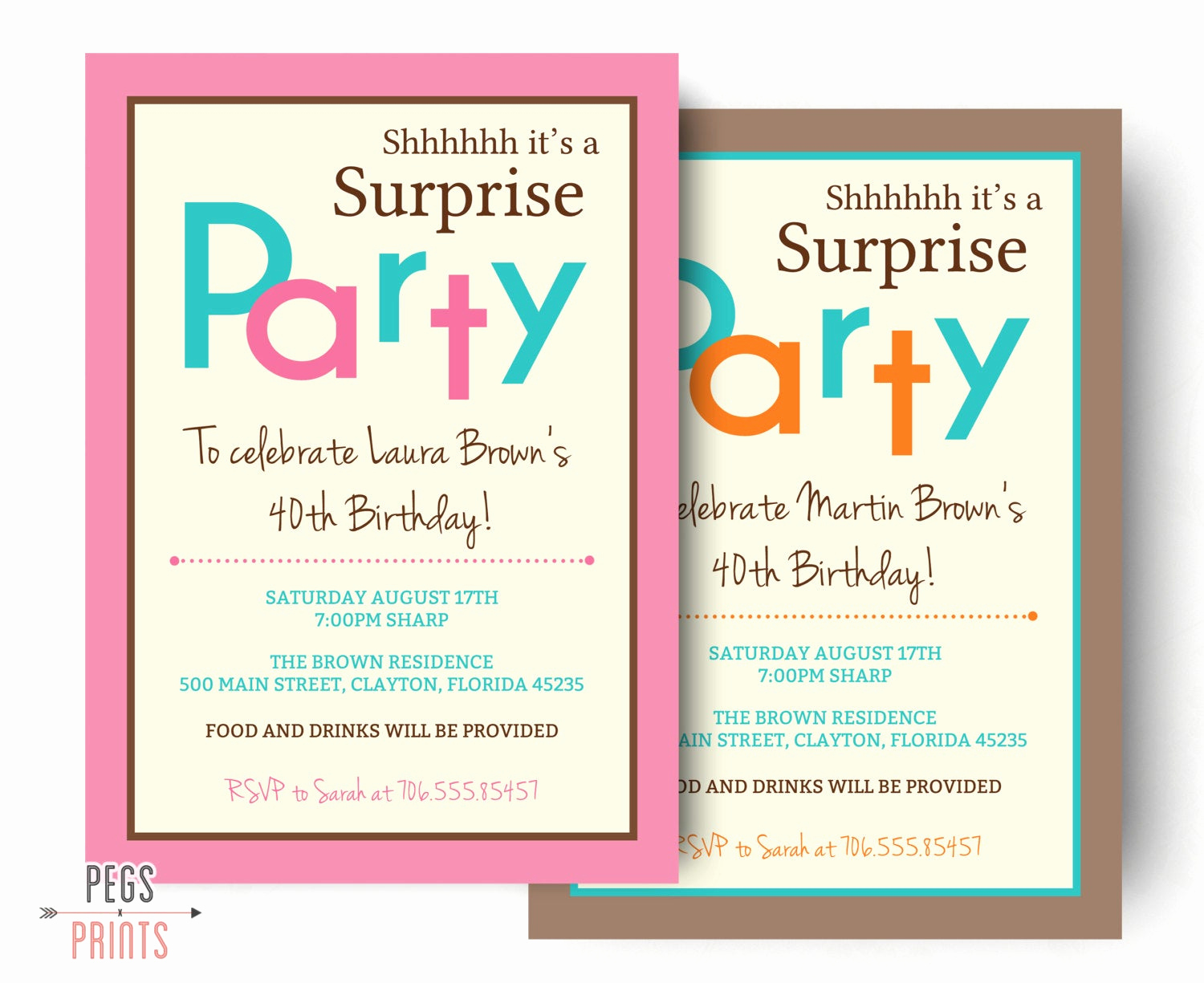 Birthday Invitation Templates Word New Surprise Birthday Invitation Printable Surprise Birthday