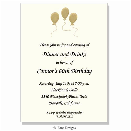 Birthday Invitation Wording for Adults Inspirational Adult Birthday Party Invitation Wording