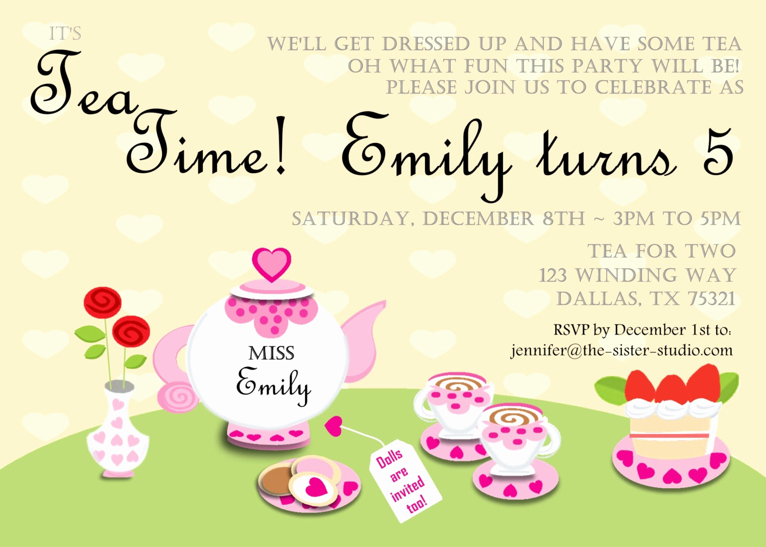 Birthday Invitation Wording for Kids Elegant Item Details
