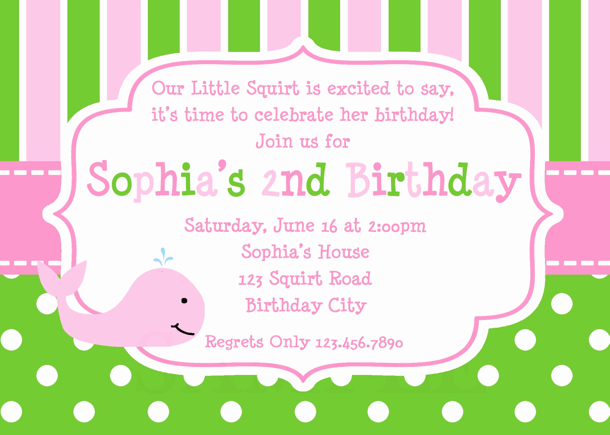Birthday Party Invitation Template Inspirational 21 Kids Birthday Invitation Wording that We Can Make