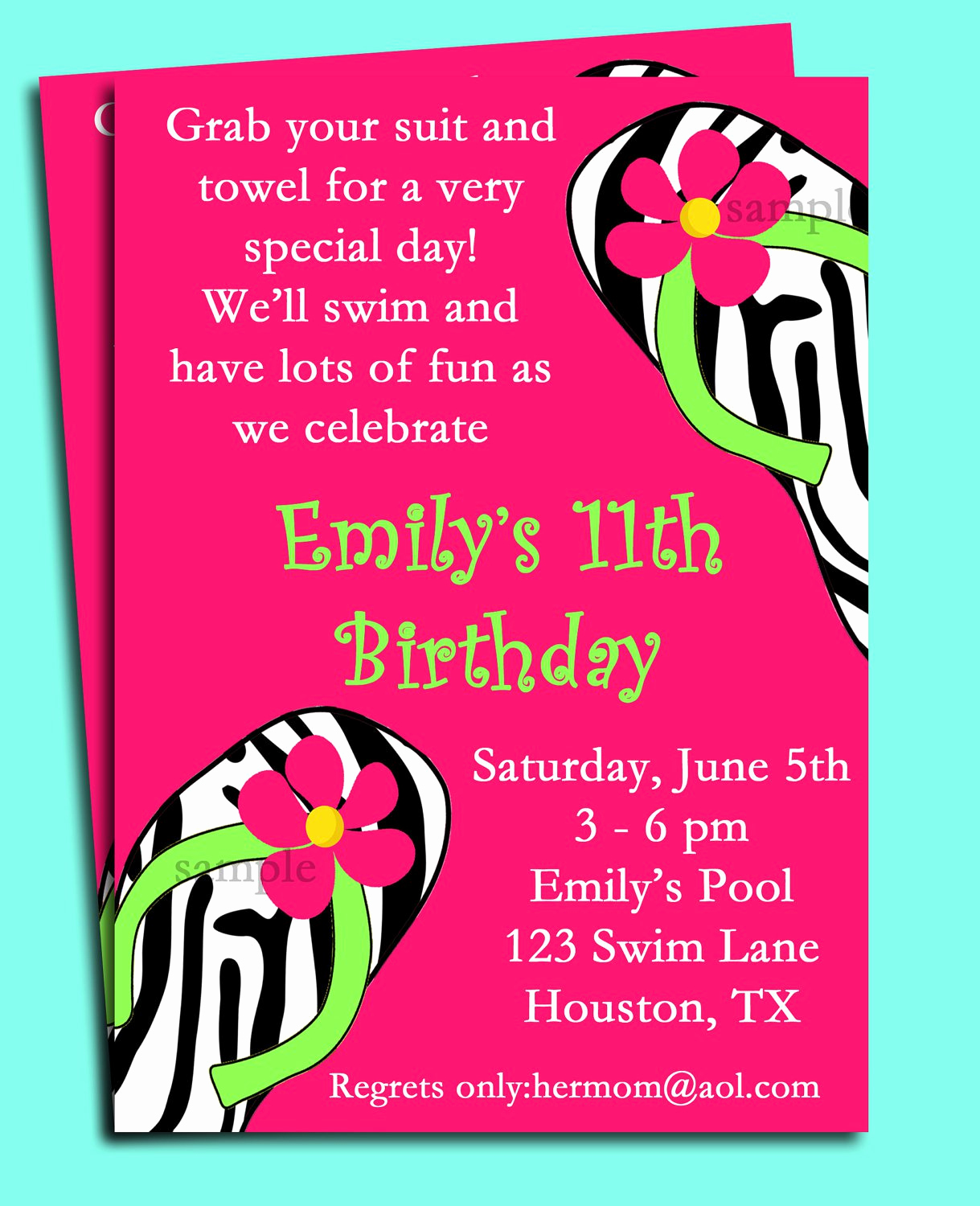 Birthday Pool Party Invitation Wording Beautiful Pool Party Birthday Invitation Wording