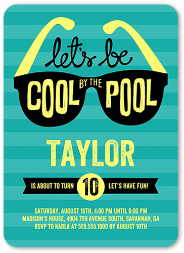 Birthday Pool Party Invitation Wording Fresh Pool Party Invitations