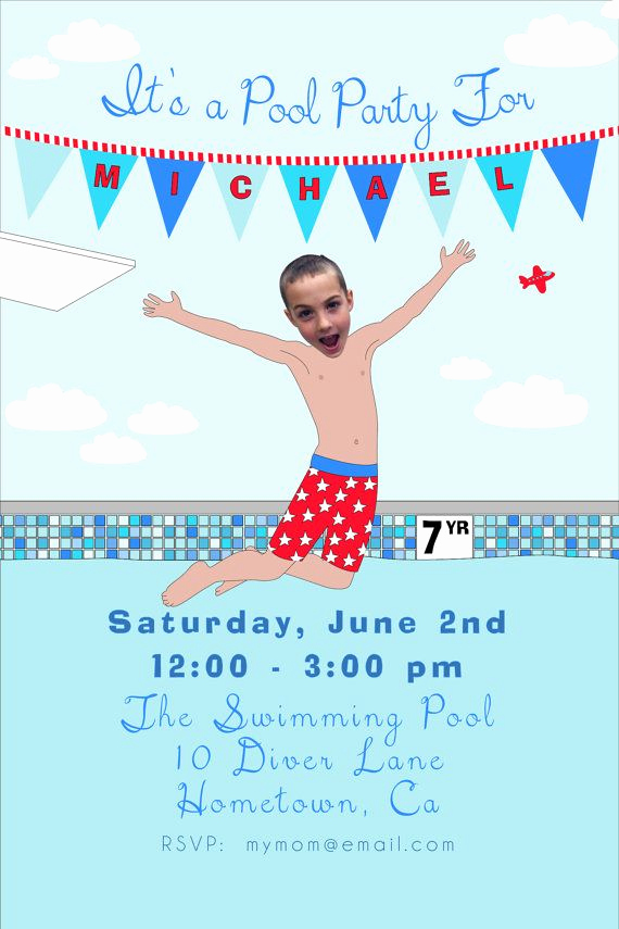 Birthday Pool Party Invitation Wording Inspirational Best 25 Boy Pool Parties Ideas On Pinterest