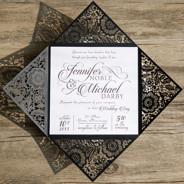 Black and White Invitation Inspirational Updated top 10 Wedding Color Scheme Ideas for 2018 Trends