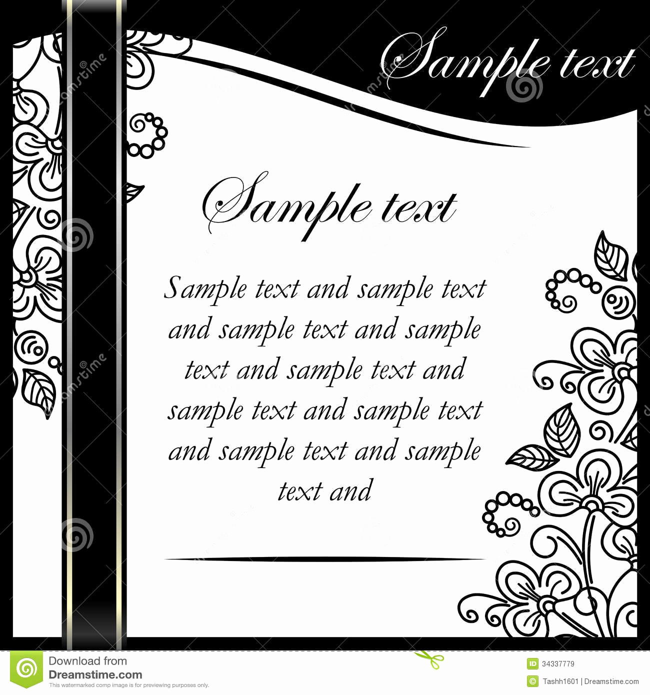 Black and White Invitation Luxury Invitation Printable Gallery Category Page 7
