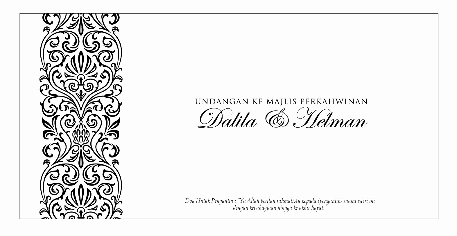 Black and White Invitation Template Best Of Blank Wedding Invitation Templates Black and White