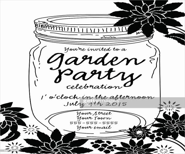 Black and White Invitation Template Fresh 12 Black and White Party Invitations Psd Ai Vector