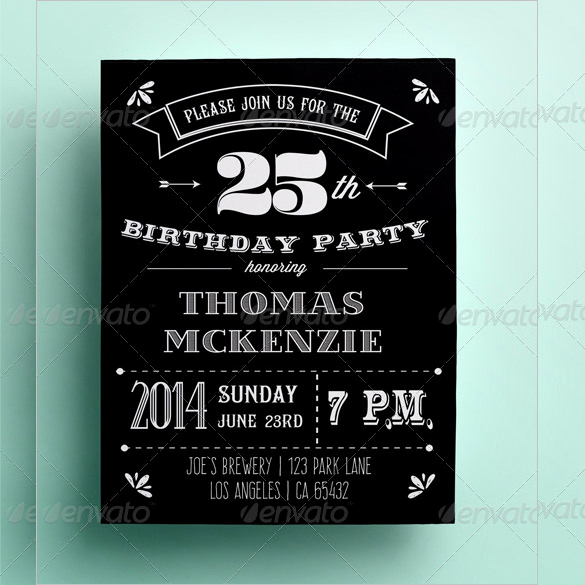 Black and White Invitation Template Lovely 41 Invitation Card Templates Psd Word