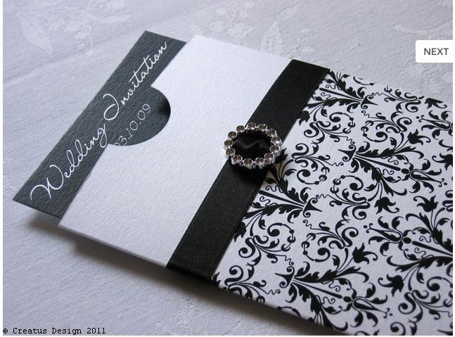 Black and White Wedding Invitation Luxury Black and White Wedding Invitation