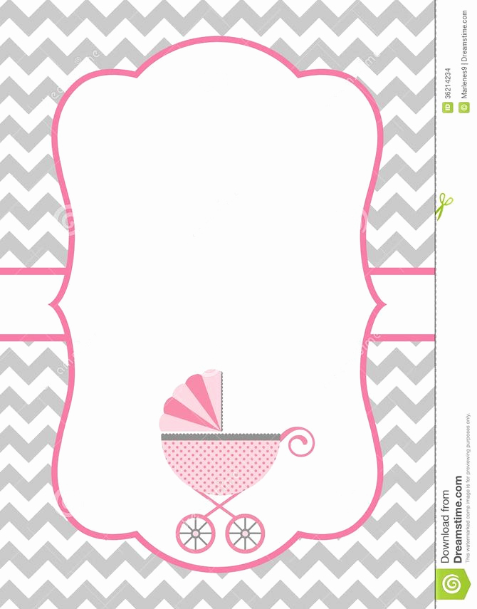 Blank Baby Shower Invitation Template Beautiful How to Make A Baby Shower Invitation Template Using