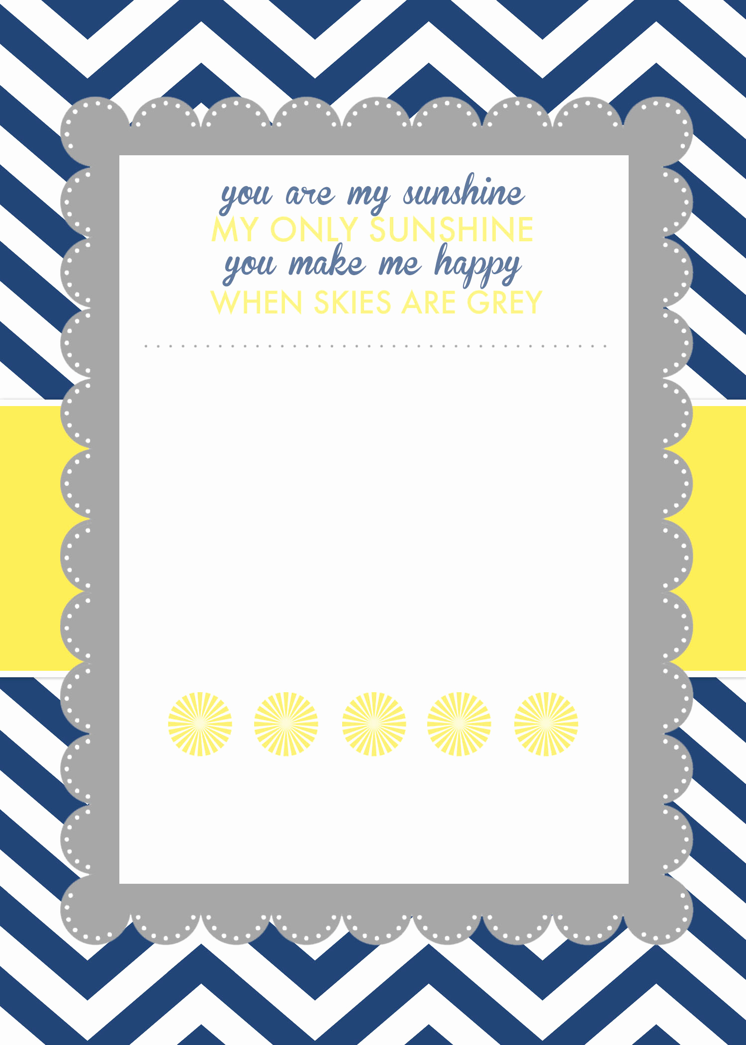 Blank Baby Shower Invitation Template Best Of You are My Sunshine Baby Shower Printables How to Nest