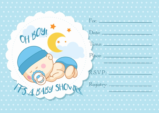 Blank Baby Shower Invitation Template Fresh 35 Baby Shower Invitations Psd Ai Word Eps