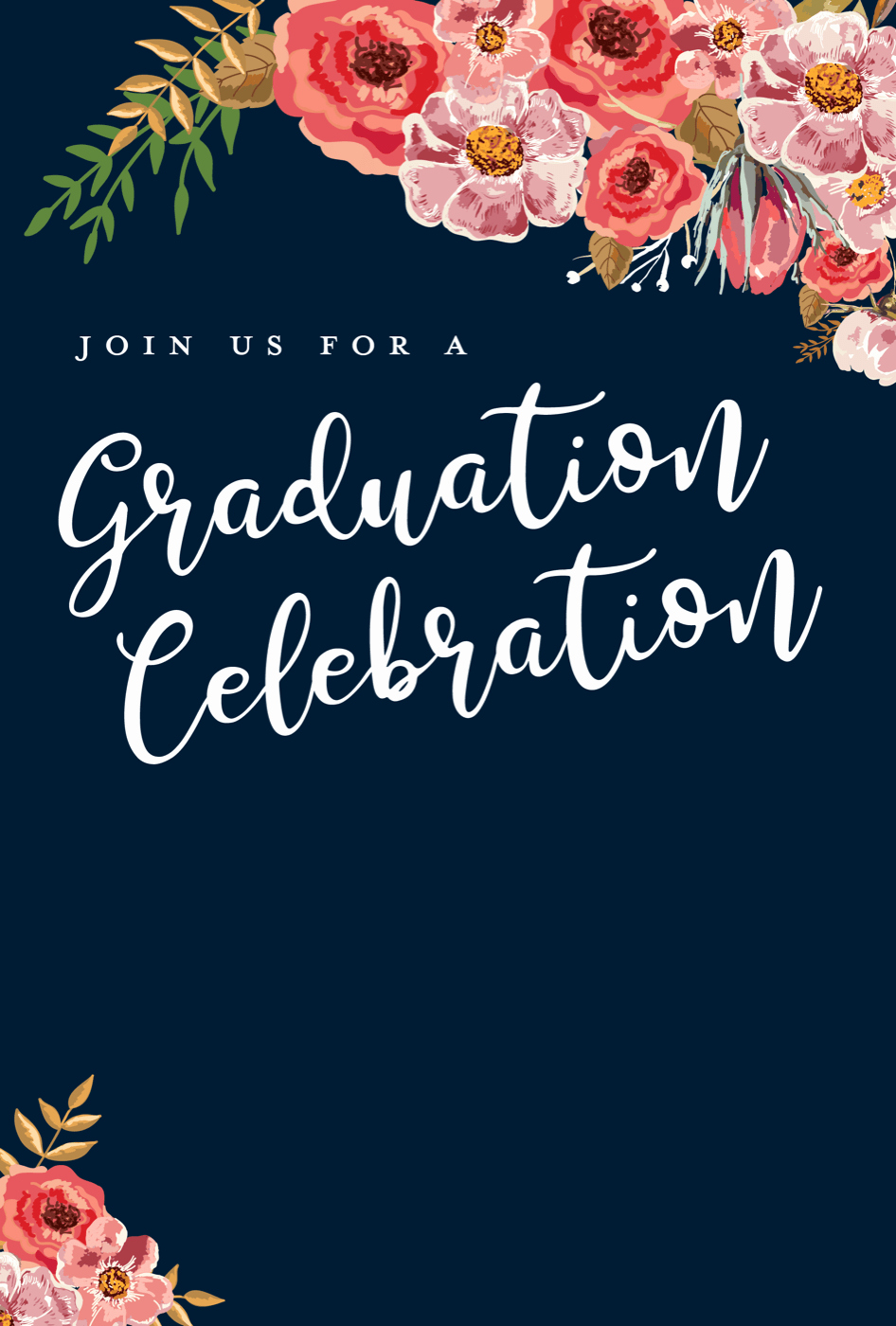 Blank Graduation Invitation Templates Awesome 5 Editable Graduation Party Invitation Templates Tips