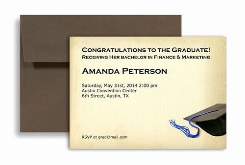 Blank Graduation Invitation Templates Luxury Blank Graduation Invitation