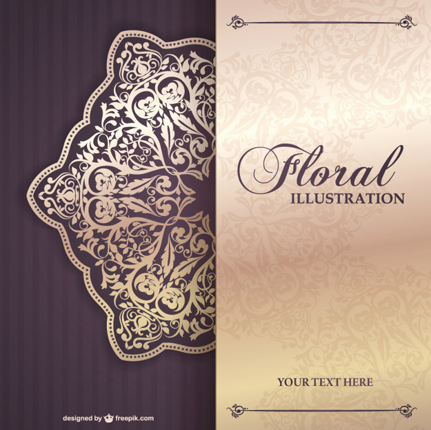 Blank Invitation Templates Free Download Inspirational Floral Invitation Template Vector