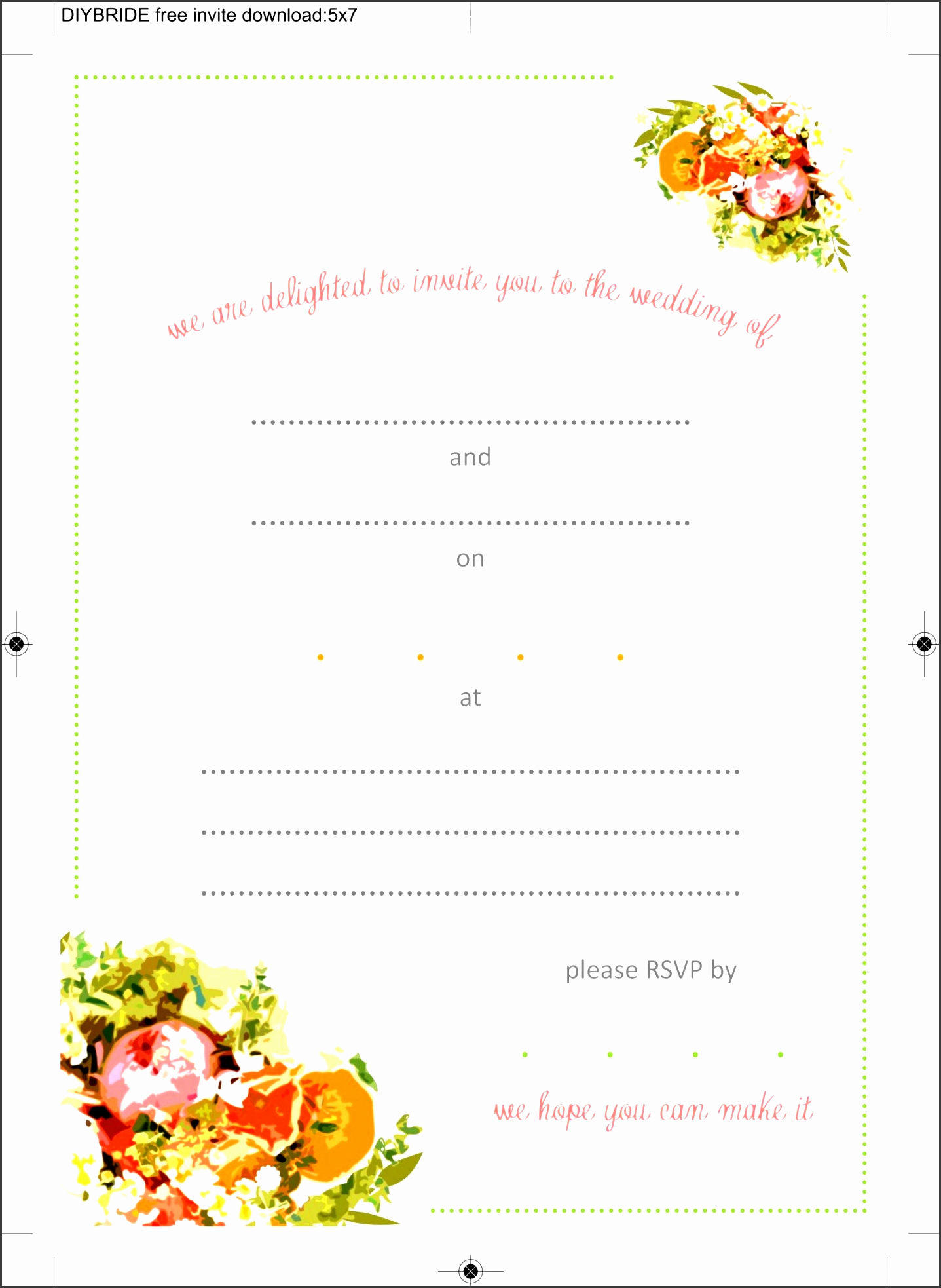 Blank Invitation Templates Free Download Lovely 10 Ms Word Birthday Party Invitation Template