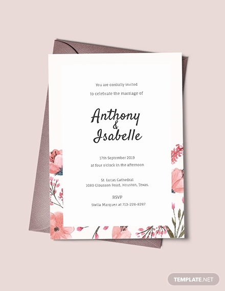 Blank Invitation Templates Free Download Unique Free Boho Debut Invitation Template Download 344
