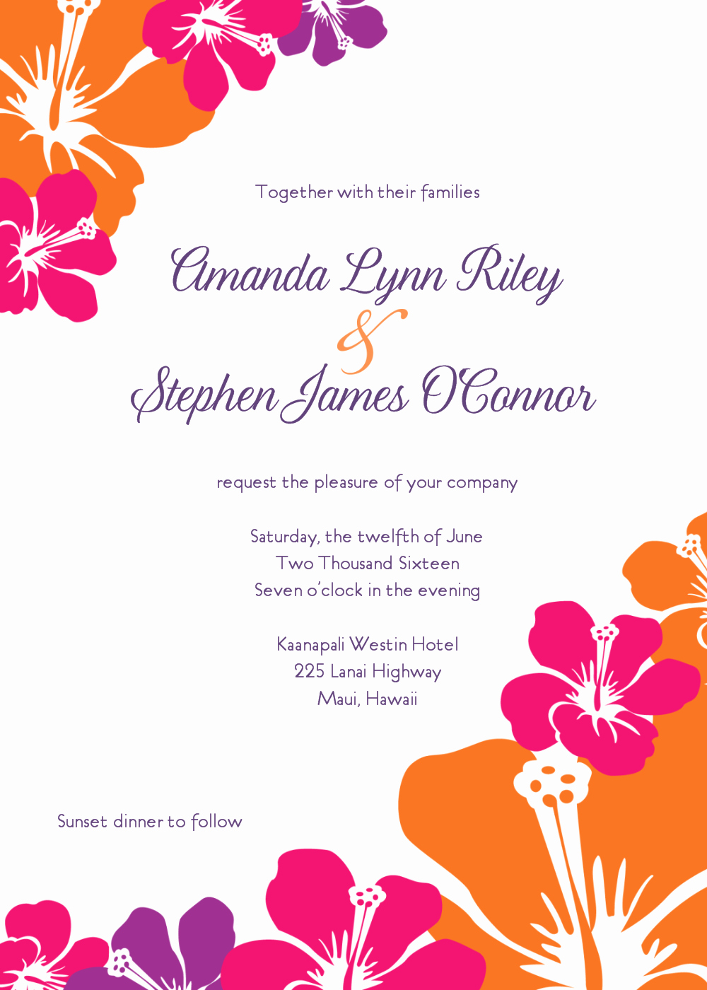 Blank Luau Invitation Borders New Free Wedding Invitation Clip Art Weddingclipart