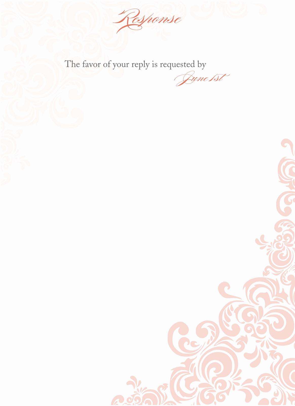 Blank Wedding Invitation Templates Awesome Blank Wedding Invitations Samples