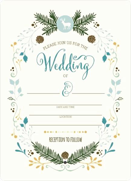 Blank Wedding Invitation Templates Best Of 1000 Ideas About Blank Wedding Invitations On Pinterest
