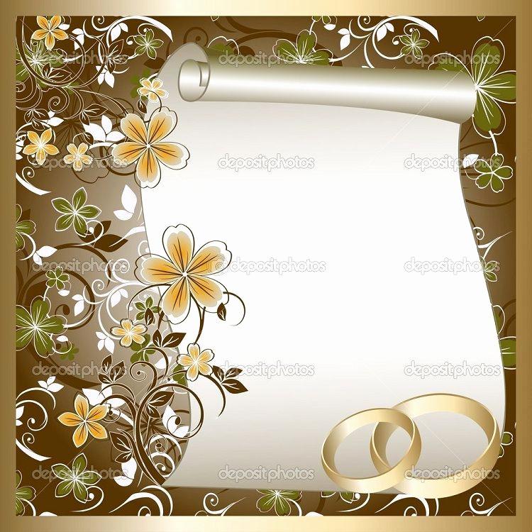 Blank Wedding Invitation Templates Elegant Blank Wedding Invitations Designs