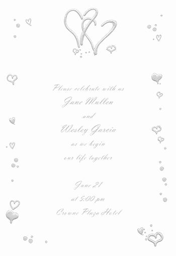 Blank Wedding Invitation Templates Inspirational Best 25 Blank Wedding Invitations Ideas On Pinterest